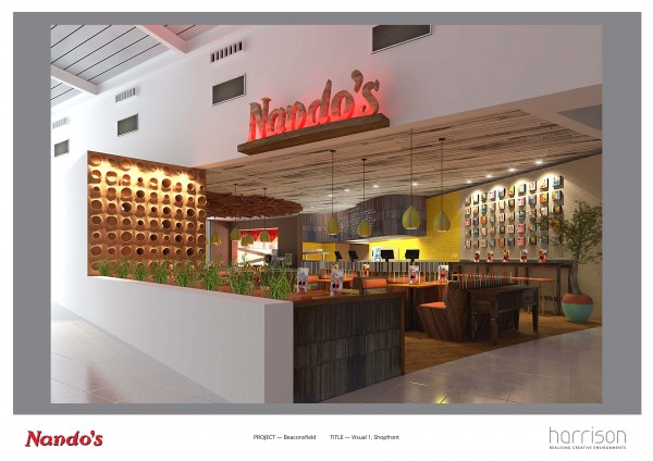 Nando's Opens Early August 2014 at Beaconsfield MSA