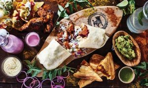 Wrapchic, Differently Indian. Now open at Cobham MSA