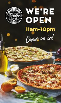 Pizza Express now open at Beaconsfield MSA