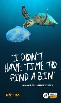 Keep it, Bin it - Extra MSA proud partners of the Defra National Litter Campaign